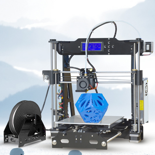 2017 New tronxy P802E Full models 3D Printer Kits Extrusion DIY kit 3d printing Hotbed 1 roll PLA Filament 8GB SD card