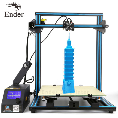 2018 CR-10S 4S 5S 3D Printer DIY Kit Filament Monitoring Alarm,Dual-Leading-screws Rod printer 3D n 200g Filament