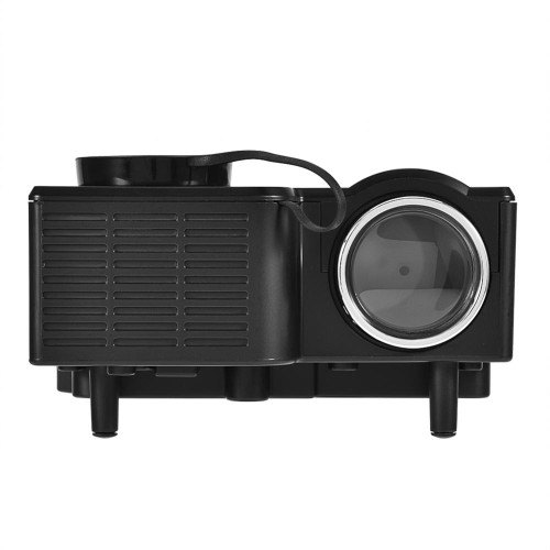Mini Portable LED Projector 1080P HD Private Home Theater 4 : 3 / 16 :9 Stereo Sound Effect Portable LED Projector US Plug