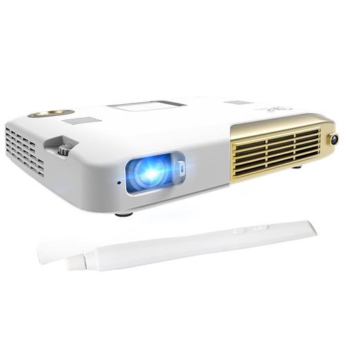 Mini Projector 4K 4096*2160 Resolution DLP 3 Video Projector Home Theater Business Office Portable Proyectores Led Full HD 1080p