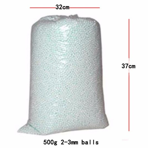 500g/250g Wholesale White Foam Balls beanbag baby Filler bed sleeping Pillow Bean Bags chairsofa Beads Filler Styrofoam ball