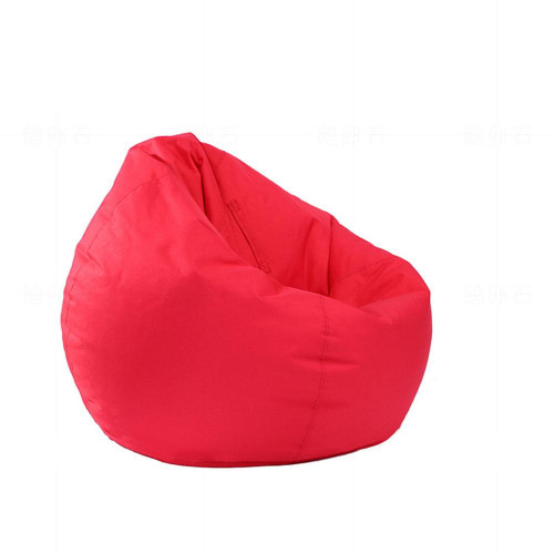 Waterproof Stuffed Animal Storage Bean Bag Oxford Chair Cover Zipper Beanbag Toys Soft Solid Causal Baby Seats Sofa