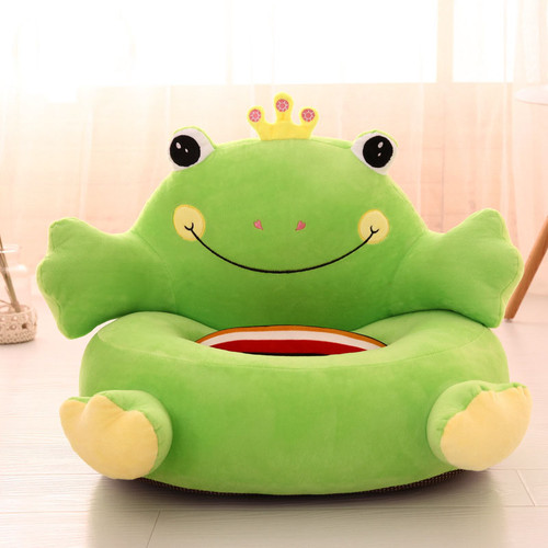 M.J LIUNIAN Baby Kids Bean Bag Children Sofa Infant Cartoon Seat Chair Children Plush Toys Without Filler Inside Only Cover