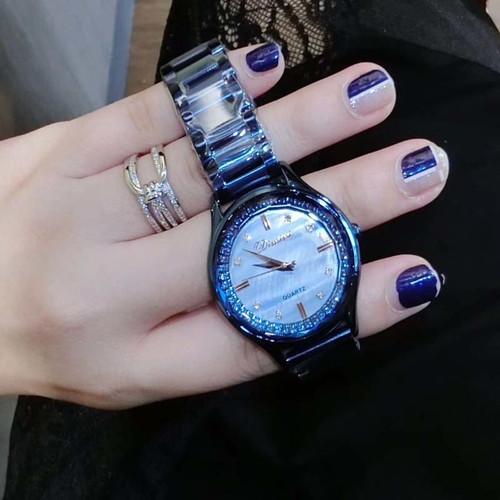 Shiny Crystal DIMINI Lady Women's Watch Japan Quartz Hours Fine Fashion Jewelry Clock Bracelet Luxury Girl's Gift Diamond watch
