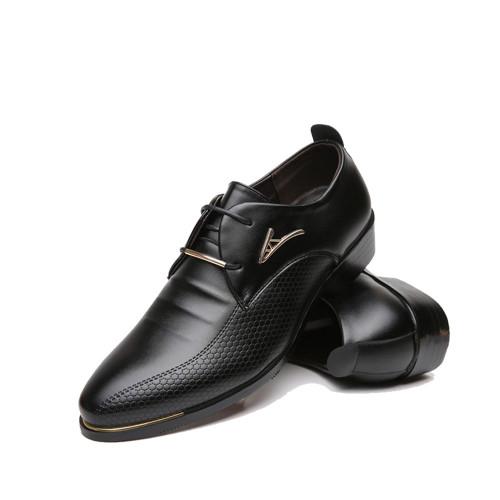 NPEZKGC New oxford shoes for men Fashion Men Leather Shoes Spring Autumn Men Casual Flat Patent Leather men shoes size 46