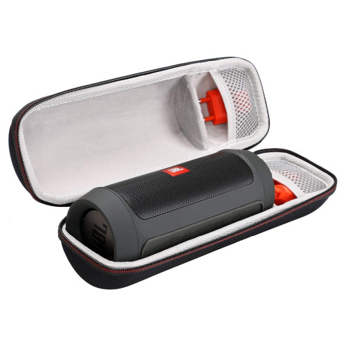 New EVA Hard Case Travel Carry Bag for JBL Charge 2 & Charge 2 + Wireless Bluetooth Speaker With Mesh Pocket Fits Plug & Cables