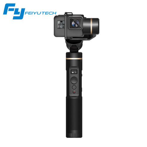 FeiyuTech Feiyu G6 3 Axis Handheld Gimbal Stabilizer for action camera Gopro 6 5 4 RX0 xiaomi yi 4k Wifi Blue Tooth OLED Screen