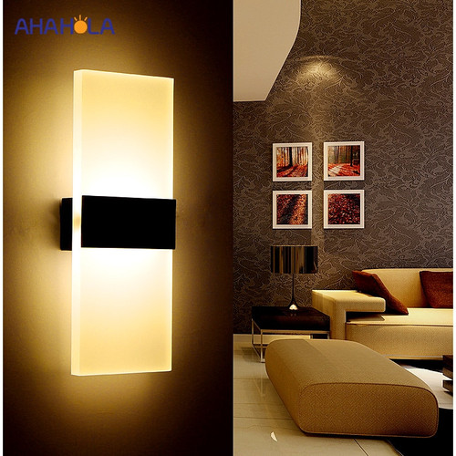 Modern Wall Light Led Indoor Wall Lamps Led Wall Sconce Lamp Lights for Bedroom Living Room Stair Mirror Light Lampara De Pared
