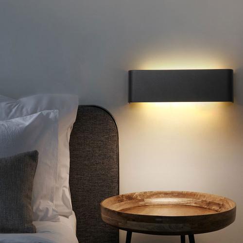 Modern minimalist LED aluminum lamp bedside lamp wall lamp room bathroom mirror light direct creative aisle