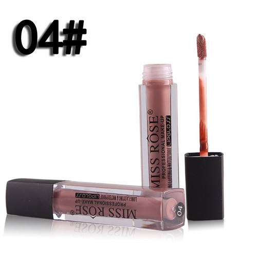 Lip Gloss Matte Lip Red Lipstick Waterproof Lipgloss Makeup Lips Matt Long Lasting Liquid