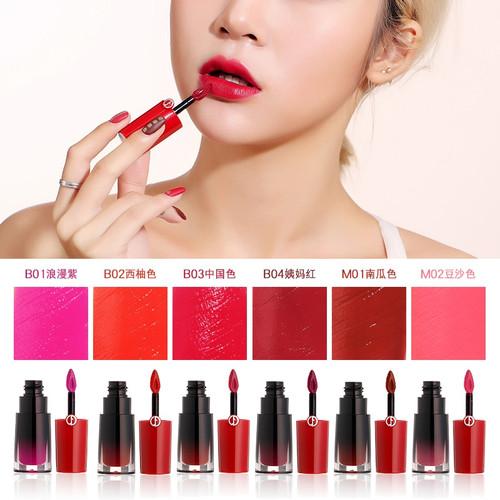 Luxury Glossy Lip Stain Lip Gloss Waterproof Long Lasting Glaze & Matte Lipgloss Lipstick Makeup