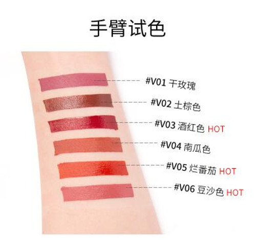 Waterproof Long Lasting Matte Liquid Lipstick Beauty Lip Gloss Sexy Velvet Matte Lipgloss Lip Makeup Pigment