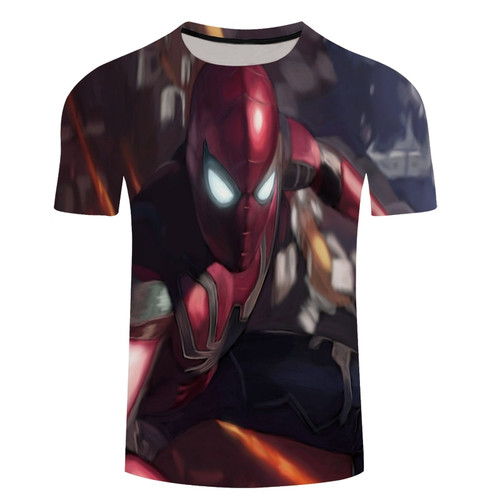 2018 Movie Avengers 3 Infinity War Superhero T Shirt Men Slim 3d Print T-shirt marvel Tee Shirts Cool Mens Summer Tops Tee