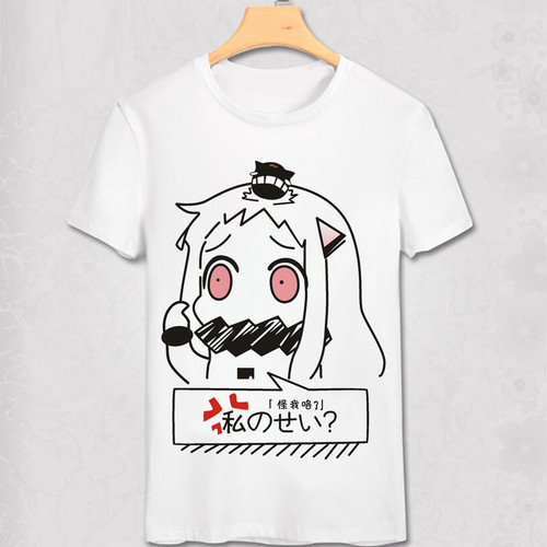 Kantai Collection anime T shirt Unique party swag anime T-shirt Bro Geek Original Hipster Comic tshirt marvel white homme shirt