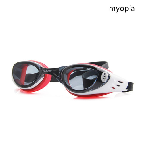 FEIUPE Myopia Swim Goggles Swimming Glasses Anti Fog UV Protection Optical Waterproof Eyewear for Men Women Adults Sport Kids