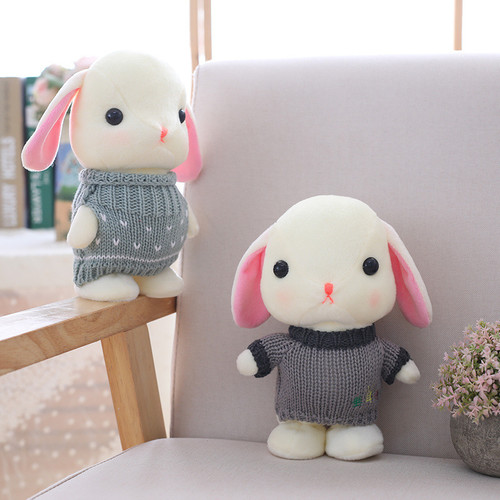 Robot Rabbit Sound Control Interactive Rabbit Electronic Bunny Electric Plush Toy Music Talk Walk Stuffed Toys For Children