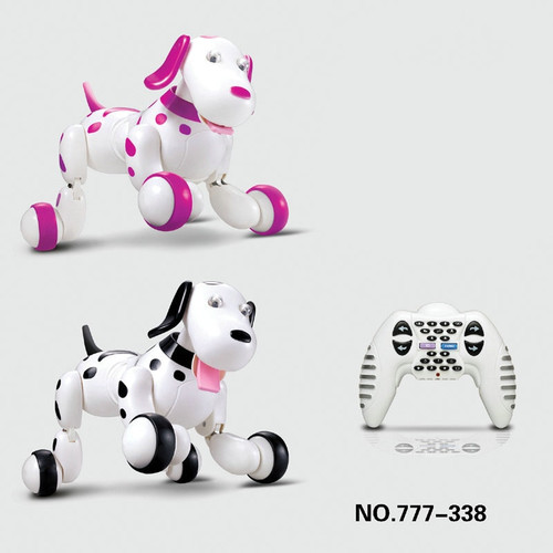 Cute kids intelligent dog Robot RC Electric Remote Control 2.4 G Pet dogs dancing light walk Multifunctional toys