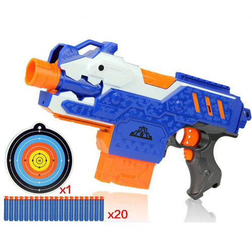 Eva2king Electric Soft Bullet Toy Gun For Children Dart Suit for Nerf Darts Perfect Suit for Nerf Gun Bullet GunsSniper Rifle