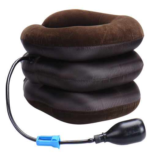 Neck Massage Air Cervical Soft Neck Brace Device Headache Back Shoulder Pain Cervical Relaxation Health Care