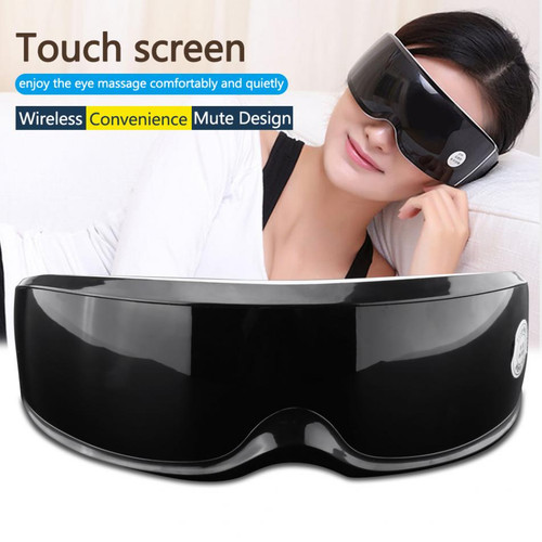 Health Electric Vibration Eye Massager Touch Display Eyes Care Device Wrinkle Fatigue Relieve Magnet Therapy Eye Care Massager