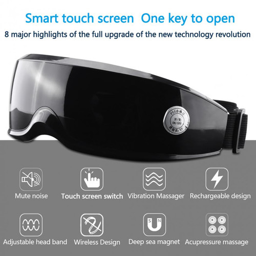 Health Electric Vibration Eye Massager Touch Display Eyes Care Device Wrinkle Fatigue Relieve Magnet Therapy Eye Care Massager Health Electric Vibration Eye Massager Touch Display Eyes Care Device Wrinkle Fatigue Relieve Magnet Therapy Eye Care Massager