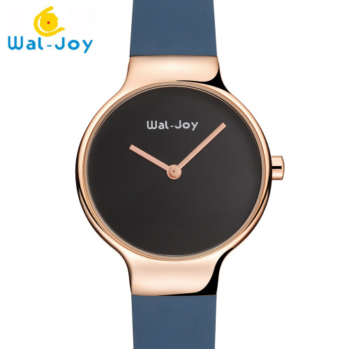 Hot Sale Wal-Joy Brand Women Japan Movement Quartz Watch Small Face Silicone Strap Lady DIY Waterproof Wristwatch (9008-4)