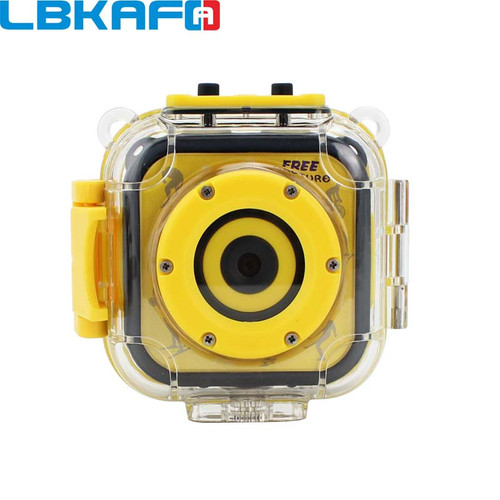 "LBKAFA Cute Mini Children Kid Camera 720P Digital Video Portable Camcorder with 1.77"" LCD Screen Fine Gift for Your Boy Girl"