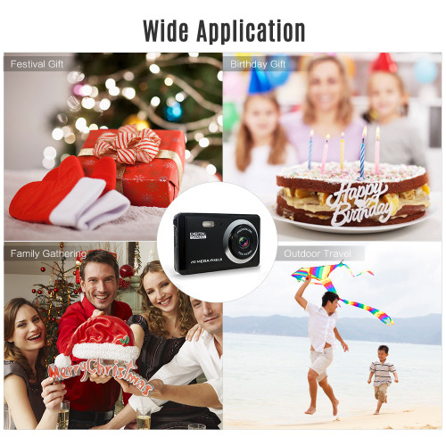 "HD Mini Digital Video Camera Camcorder 3"" LCD 8 Mega Pixels Voice Video Recorder Anti-shake Video Camera Birthday New Year Gift"