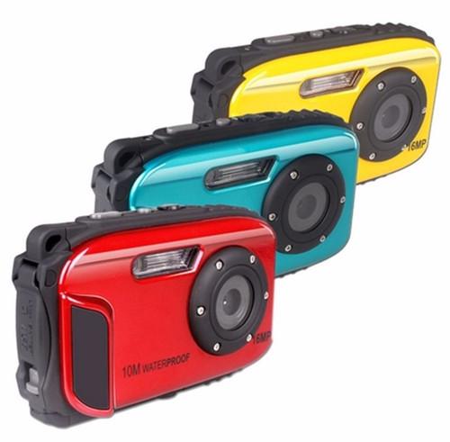 Hot 2.7inch LCD Anti-shake Cameras 16MP Digital Camera Underwater 10m Waterproof Camera+ 8X Zoom Video Camcorde