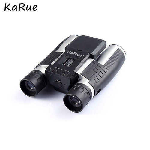 KaRue 2018 Professional 12x32 Binocular Telescope Digital Camera 5MP CMOS 2.0'' TFT Display HD 1080P Telescope Camera