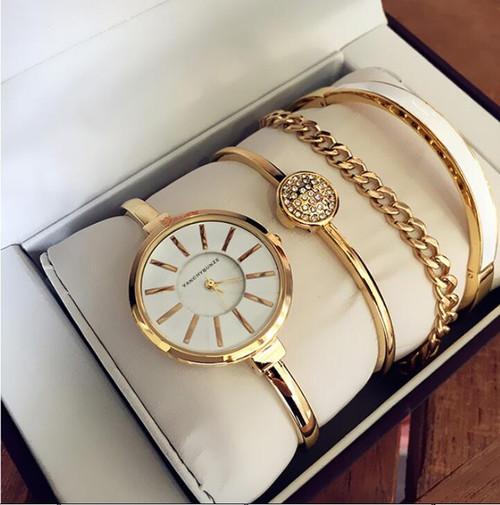 Women Rhinestone Watch  Luxury brand set Crystal Ceramic Watches steel Quartz Wristwatches Lady Dress Watch relogio feminino
