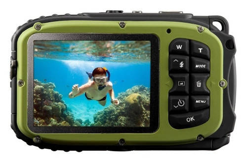 New 16MP Digital Camera With 10m Waterproof +8X digital Zoom + 2.7 inch Screen