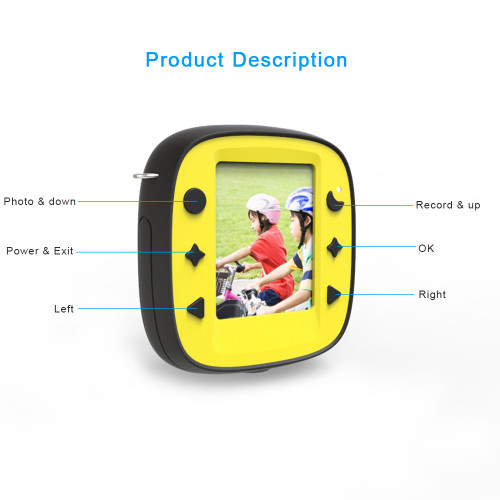 Kids Digital Camera Zoom Dual-Lens Video Camera Dual Selfie Camera 1080P HD Video Recorder Camera Camcorder LCD Screen