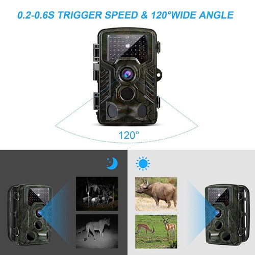 IP66 Hunting Trail Camera HC800A Full HD 12MP 1080P Video Night Vision Camera Trap Scouting Infrared IR Digital Camera Trap
