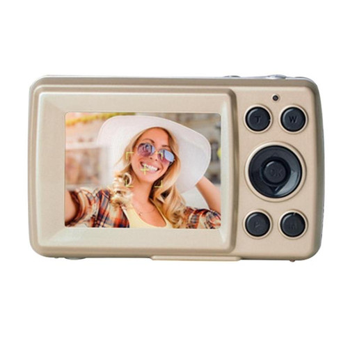 Portable Mini Pocket Camera 2.4 inch TFT LCD Screen Display High-Definition 8X 16MP Shooting Camera Automatic Clear Shooting