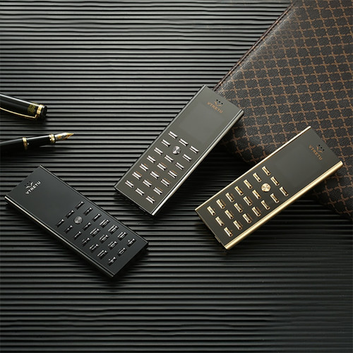 Luxury metal body dual sim key cell phone cectdigi V01 Small mini card 2G GSM senior Bar Russian keyboard thin Mobile phone