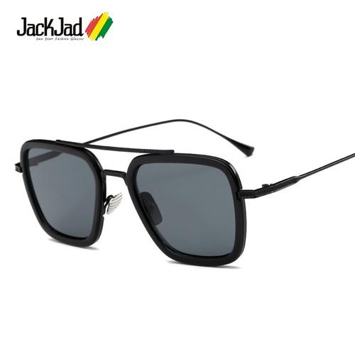 JackJad New Fashion Square Aviation Style The Flight 006 Sunglasses Men Women Brand Designer Sun Glasses Oculos De Sol Masculino
