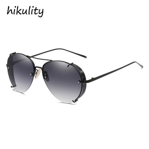 Claw Designer Vintage Sunglasses Men Luxury Brand Gothic Glasses Male Red Steampunk Pilot Sun Glasses for Women Ladies Shades