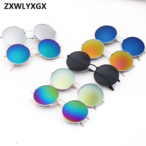 2018 Vintage Women Round Sunglasses Men's Brand Designer Sun Glasses Ladies Spectacles Oculos de Sol Feminoculos