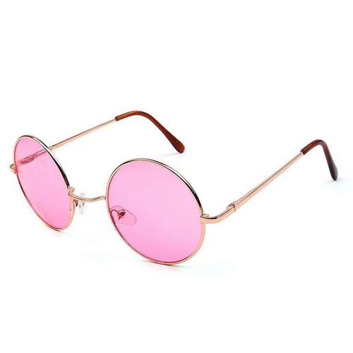 Retro Sunglasses Men/women Prince Circular Mirror Glasses Trend Alloy Frame Sunglasses Transparent Lens Colors