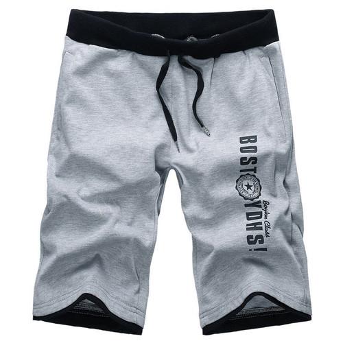 Summer New Casual Drawstring Bermuda Masculina Elastic Waistband Comfortable Knitted Shorts Men