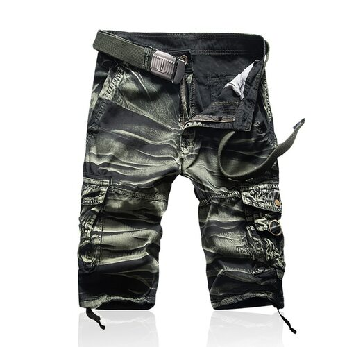 Shorts Man Brand Fashion Mens Bermuda Short Men Homme Casual Cargo Beach Shorts Men Summer Beachwear Military Camouflage Short