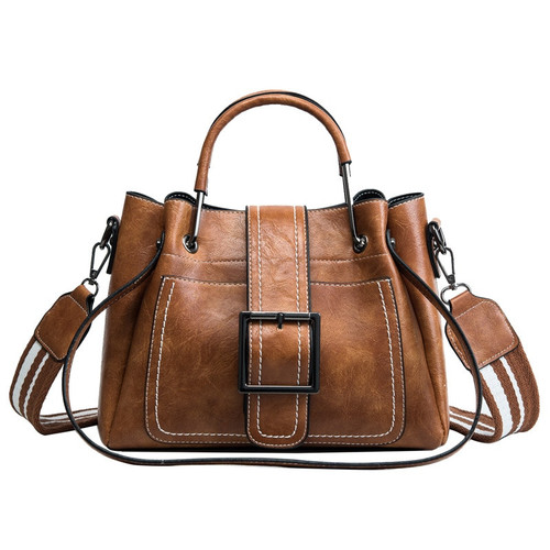 X L Y & R Bags For Women 2018 New Fashion PU Leather Handbags Crossbody Bag For Women Vintage Bucket Shoulder Bag Ladies Handbag