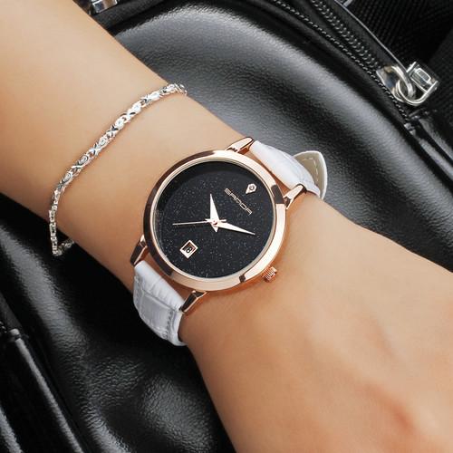 SANDA 2017 Fashion Watches Women Watches Ladies Luxury Brand Quartz Watch Women Clock Relogio Feminino Montre Femme
