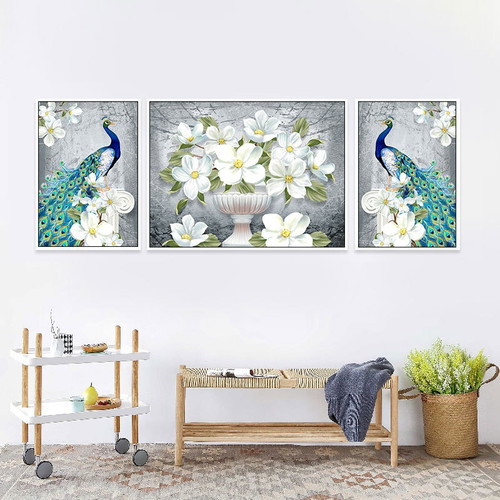 Diy 5d Diamond Embroidery, Diamond Mosaic, Special Shaped, Full, Peacock, Diamond Painting, Cross Stitch,3d, Decoration, Gift