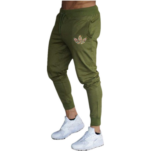 2019 New Brand hot Mens Joggers Spring Autumn Sweatpants Gyms Fitness Workout Solid Trousers Male Casual Fashion Pencil Pants