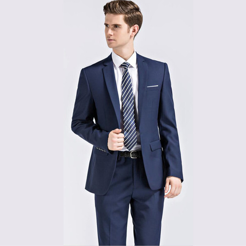 Plyesxale Men Suits 2018 Latest Coat Pant Designs Wedding Suits For Men Brand Clothing Slim Fit Black Blue Mens Formal Suit Q91
