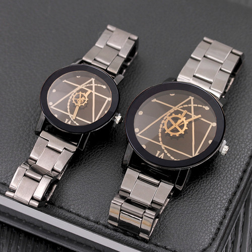 Splendid Original Brand Couple Watch Men Watch Women Stainless Steel Fashion Watches Beloved Clock relogio reloj hombre mujer