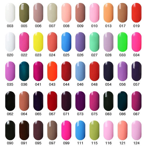 Elite99 15ml Nail Polish Soak Off UV Gel Nail Polish Semi Permanent Nail Gel Lacquer Cured With UV LED Lamp Nail Gel Varnishes