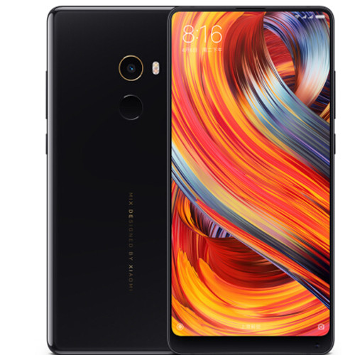 "New XiaoMi Mix 2 Mix2 Mobile Phone 6GB 128GB Snapdragon 835 Octa Core 5.99"" FHD Display Ceramics Body Full Screen Phone"